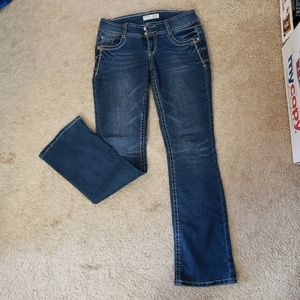 Juniors size 9 Jean's embroidered